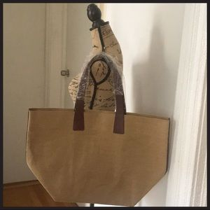 NEW MARC by Marc Jacobs beach bag burlap tote